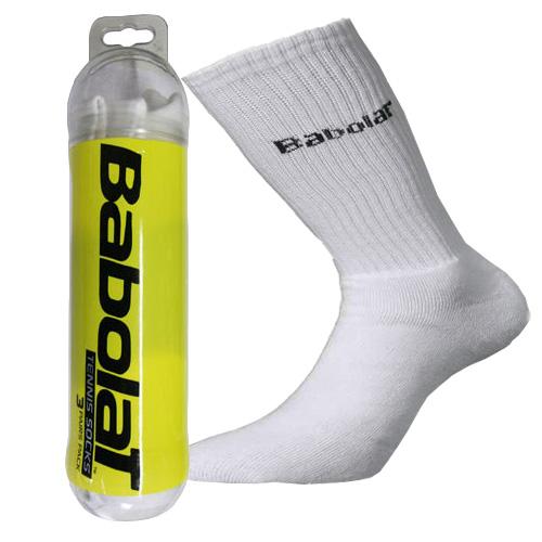 261 čarape M bijele Babolat