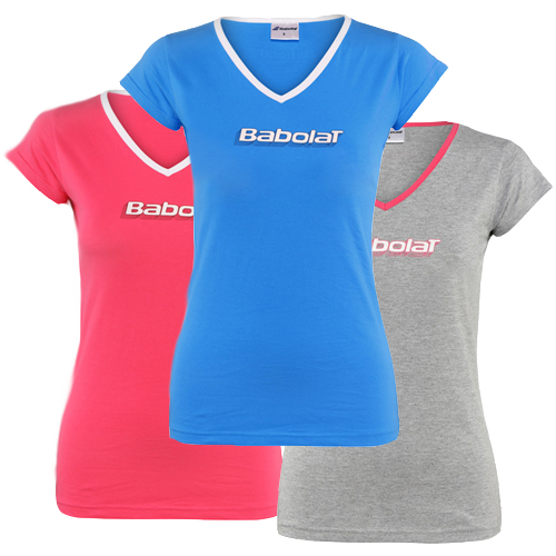 t-shirt W trening Babolat